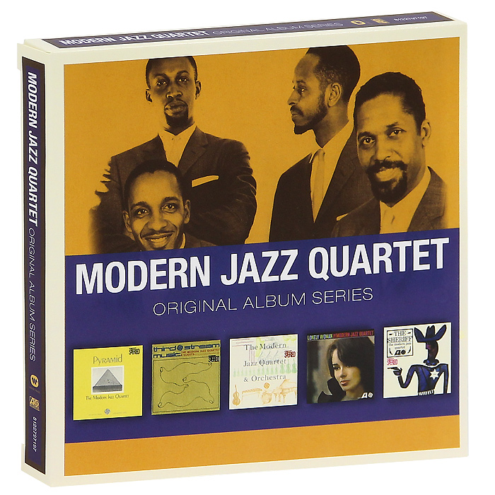 The Modern Jazz Quartet Modern Jazz Quartet. Original Album Series (5 CD) the jazz cafe 3 cd