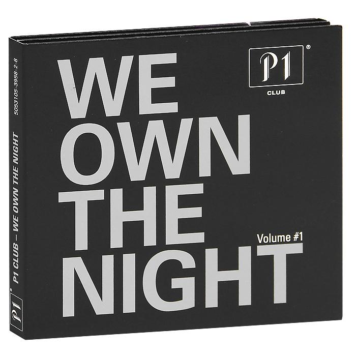 P1 Club. We Own The Night (2 CD) блокнот кассета цвет черный оранжевый 003235
