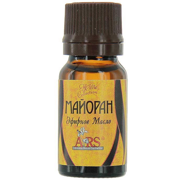 Эфирное натуральное масло Арома Роял Системс Майоран, 10 млАРС-605Эфирное натуральное масло Арома Роял Системс Майоран обладает вечерним, теплым, сладковато-терпким ароматом.Применение: при насморке, воспалении пазух носа, хроническом тонзиллите, активный спазмолитик, быстро устраняет спазмы сосудов, обезболивает и устраняет отеки при невралгиях и остеохондрозе, афродизиак, обостряет чувства и реакции.Воздействие на эмоциональную сферу: устраняет неврастению, беспокойство, придает чувство бодрости, помогает при бессоннице.Биоэнергетика: помогает избавиться от негативных установок по отношению к себе, быстро восстанавливает душевные силы, заражает жаждой жизни, позволяет спокойно и быстро добиваться своей цели.Косметический эффект: смягчает загрубевшие участки кожи, обновляет клетки кожи, удаляет мозоли, бородавки, очищает, сужает поры, используется при кератозах. Характеристики:Объем: 10 мл. Производитель: Россия. Товар сертифицирован.