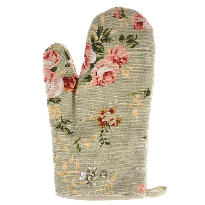 Рукавица Bonita, цвет: зеленый1101210065Прихватка для горячего Bonita, выполненная из натурального хлопка в виде красочной рукавицы, станет украшением любой кухни. С помощью специальной петельки рукавицу можно вешать на крючок. Отличный вариант для практичной и современной хозяйки. Характеристики:Материал: 100% хлопок. Цвет: зеленый. Размер рукавицы: 27 см х 15,5 см. Артикул: 1101210065. Уют на кухне это предмет заботы специалистов, создающих текстиль для кухни Bonita. Кухня, столовая, гостиная - то место в доме, где хочется собраться всем вместе, ощутить радость и уют. И немалая доля этого уюта зависит от подобранных под вашу мебель, и что уж говорить, под ваше настроение - полотенец, скатертей, салфеток и прочих милых мелочей. Bonita предлагает коллекции готовых стилистических решений для различной кухонной мебели, множество видов, рисунков и цветов. Вам легко будет создать нужную атмосферу на кухне и в столовой с товарами Bonita.