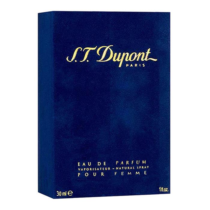 S.T. Dupont S.T. Dupont Pour Femme. Парфюмерная вода, 30 мл02392Аромат S.T. Dupont S.T. Dupont Pour Femme - это божественное воплощение совершенства, изысканности и элегантности, которое состоит из букета цветочных, фруктовых и древесных ароматов. Яркие и щекотливые нотки мандарина, магнолии, гардении, гвоздики и розы делают обладательницу превосходного аромата более женственной и очаровательной. Древесные ноты амбры, мускуса, ванили, сантала, пачули, кедра и дуба придают очарованию загадочную пряность и сексуальную раскованность. А классический набор нежных фруктовых и цветочных нот делают общую композицию утонченной и наиболее чувственной. Такой аромат украсит повседневные будни своей хозяйки и позволит ощущать себя уверенно в любой компании.Классификация аромата: цветочный. Верхние ноты: дыня, гальбанум, мандарин, бальзам из черной смородины, лимон.Ноты сердца: гвоздика, гардения, жасмин, орхидея, ландыш, цикламен, иланг-иланг.Ноты шлейфа: мох, сандал, мускус, кедр, амбра, пачули.Ключевые слова:Богатый, нежный, гармоничный, легкий! Характеристики:Объем: 30 мл. Производитель: Франция. Самый популярный вид парфюмерной продукции на сегодняшний день - парфюмерная вода. Это объясняется оптимальным балансом цены и качества - с одной стороны, достаточно высокая концентрация экстракта (10-20% при 90% спирте), с другой - более доступная, по сравнению с духами, цена. У многих фирм парфюмерная вода - самый высокий по концентрации экстракта вид товара, т.к. далеко не все производители считают нужным (или возможным) выпускать свои ароматы в виде духов. Как правило, парфюмерная вода всегда в спрее-пульверизаторе, что удобно для использования и транспортировки. Так что если духи по какой-либо причине приобрести нельзя, парфюмерная вода, безусловно, - самая лучшая им замена.Товар сертифицирован.
