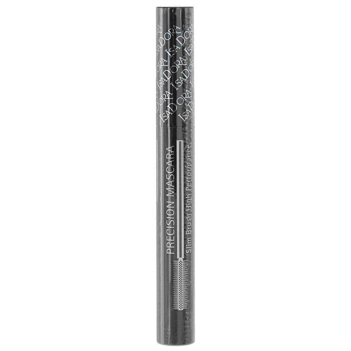 """Тушь для ресниц Isa Dora """"Precision Mascara Slim Brush High Performance"""", тон №11, цвет: черно-коричневый, 7 мл"""