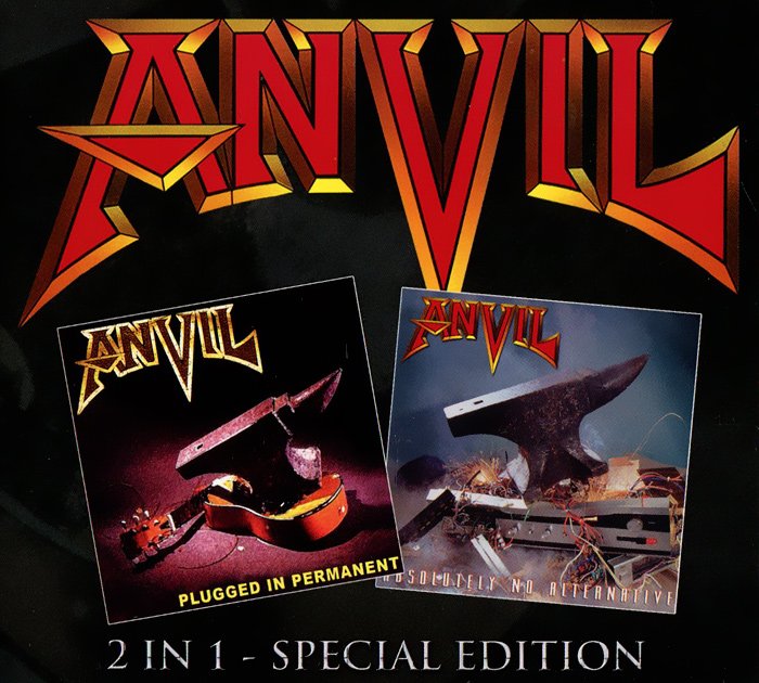 Anvil Anvil. Plugged In Permanent / Absolutely No Alternative (2 CD) anvil anvil juggernaut of justice