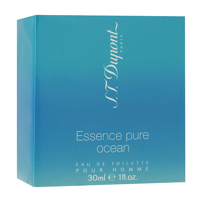 S.T. Dupont Essence Pure Ocean Pour Homme. Туалетная вода, 30 мл952793S.T. Dupont Essence Pure Ocean Pour Homme - дом S.T. Dupont видит силу и красоту морской стихии в ее спокойном, умиротворенном состоянии. Это состояние уединенности и тишины безбрежной глади океана воплощает новый дуэт Essence Pure Ocean - для него и для нее.Мужская версия Essence Pure Ocean предлагает экстремальный вариант - покорение просторов океана, погружение на глубину и, в качестве награды, отдых на океанском побережье! Как и безбрежная гладь океана, Essence Pure Ocean олицетворяет силу и мощь водной стихии, ощущение полноты жизни и уверенное спокойствие. Essence Pure Ocean - чувствуй свежее дыхание жизни!Классификация аромата: водный, свежий.Верхние ноты: лайм, мандарин, ягоды можжевельника.Ноты сердца: морской аккорд, измельченные листья бамбука, полынь.Ноты шлейфа: серая амбра, ветивер, древесные оттенки.Ключевые слова Благородный, свежий, чувственный, гармоничный! Характеристики:Объем: 30 мл. Производитель: Франция. Туалетная вода - один из самых популярных видов парфюмерной продукции. Туалетная вода содержит 4-10%парфюмерного экстракта. Главные достоинства данного типа продукции заключаются в доступной цене, разнообразии форматов (как правило, 30, 50, 75, 100 мл), удобстве использования (чаще всего - спрей). Идеальна для дневного использования. Товар сертифицирован.