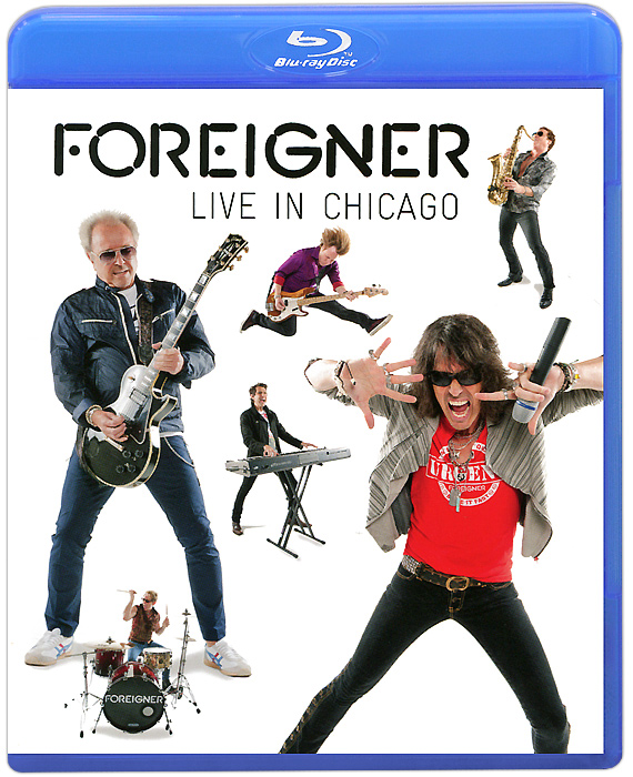 Foreigner: Live In Chicago (Blu-ray) батут optifit like blue 12ft 3 66м с желтой крышей