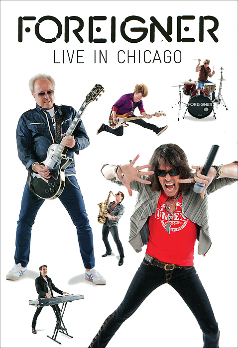 Foreigner: Live In Chicago classic 8 bit tv game consoles preloaded 500 games