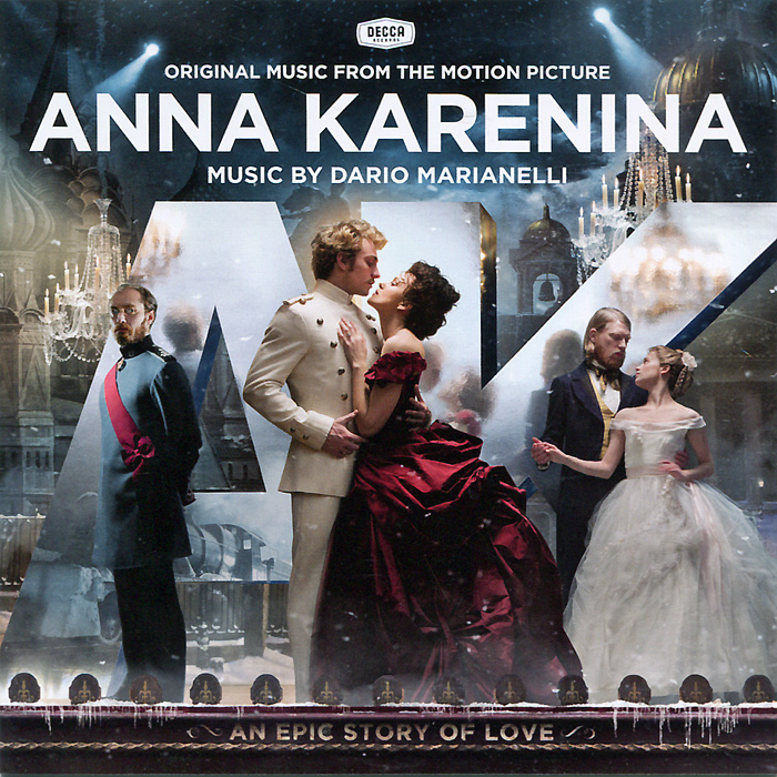 Бенжамин Уолфиш,Дарио Марианелли,Джек Лебек,Кэролин Дейл Anna Karenina. Original Music From Motion Picture anna karenina 1