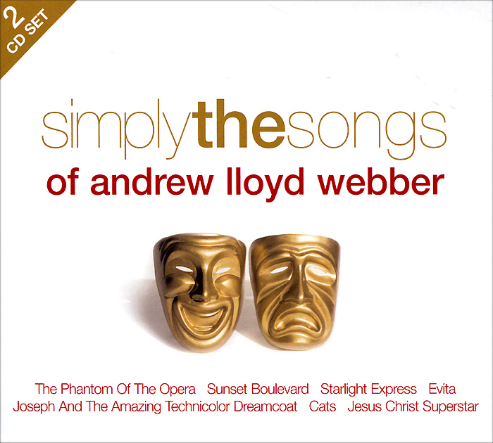 Мартин Ятс,Джон Оуэн Эдвардс,National Symphony Orchestra,Paul Baker Simply The Songs Of Andrew Lloyd Webber (2 CD) sydney symphony orchestra