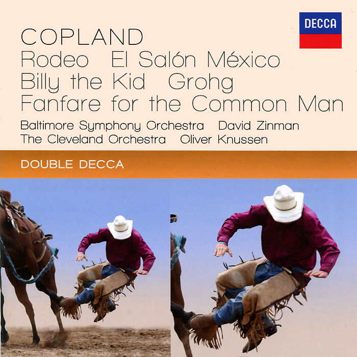 David Zinman, Oliver Knussen, Antal Dorati. Copland. Rodeo / El Salon Mexico / Billy The Kid (2 CD) yiwu partners 25mm