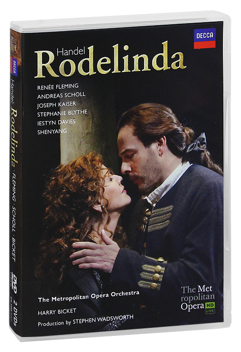 Handel, Harry Bicket: Rodelinda (2 DVD) сумка hidesign business fleming 03 fleming 03 brown