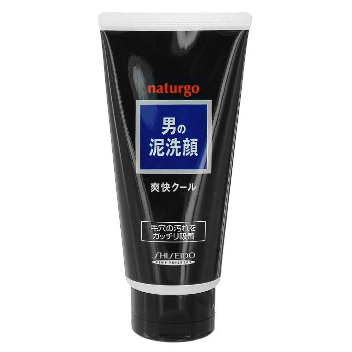 Пенка Shiseido Naturgo для умывания лица, для мужчин, с ментолом, 130 г пенка для умывания с антибактериальным эффектом skinlife 130 г