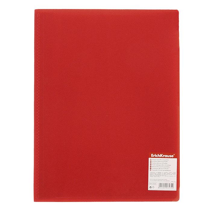 Папка с файлами Erich Krause Standard, 10 листов, цвет: красный3100Экономичная папка Erich Krause Standard предназначена для хранения часто используемых рабочих бумаг: прайс-листов, расчетных таблиц.Папка выполнена из полипропилена с прозрачными листами-карманами, скрепленными термосваркой.Характеристики:Вместимость: 10 вкладышей. Размер: 31 см х 23 см х 0,6 см. Изготовитель: Китай.