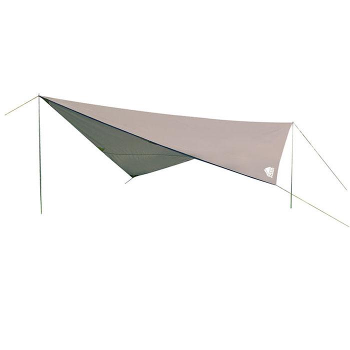 Тент Trek Planet 500 Set, цвет: серый70282Универсальный тент Tent 500 Set - предназначен для защиты от дождя и солнца и организации летней столовой, лагеря. Тканевая часть - из полиэстера с водоотталкивающей пропиткой, имеются две стальные стойки, растяжки и колышки. В собранном виде тент имеет небольшие размеры и не занимает много места при транспортировке. Тент упакован в легкий и прочный чехол на застежке-молнии.Особенности:Небольшой вес,Компактная упаковка,Стойки в комплекте,Швы проклеены. Тент упакован в легкий и прочный чехол на застежке-молнии.Размер (в сложенном виде, в чехле): 61 см х 11 см х 11 см.