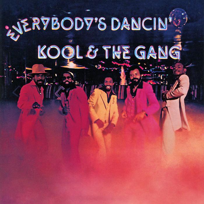 Kool & The Gang Kool And The Gang. Everybody's Dancin' худи print bar skull gang