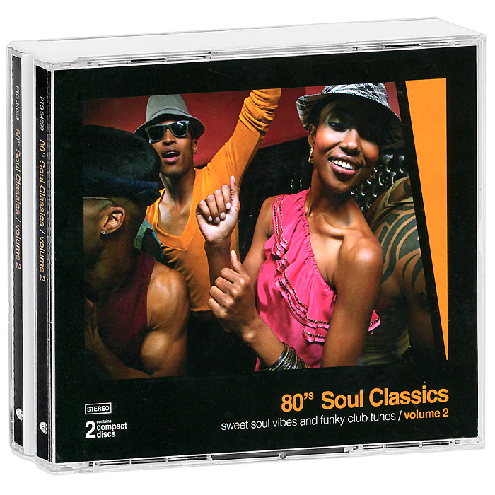 80's Soul Classics. Volume 2 (2 CD) relaxation 2 cd