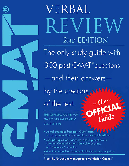 GMAT Verbal Review gre verbal and writing chinese edition