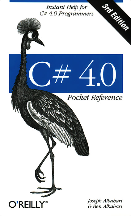 C# 4.0 Pocket Reference access 97 quick reference guide