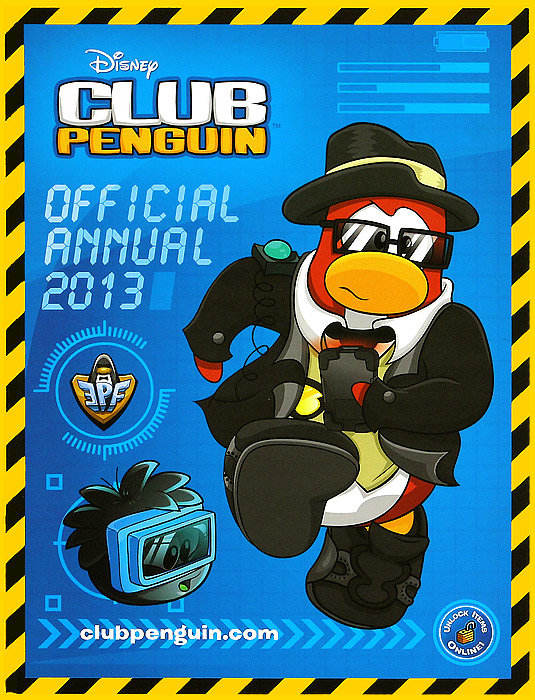 Club Penguin: Official Annual 2013 penguin ice breaking save the penguin great family toys gifts desktop game fun game who make the penguin fall off lose this game