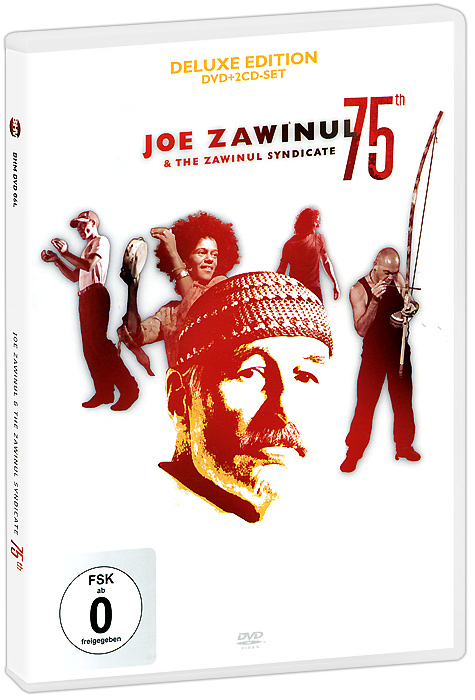 Joe Zawinul & Zawinul Syndicate: 75th - Deluxe Edition (DVD + 2 CD) boxpop lb 114 35