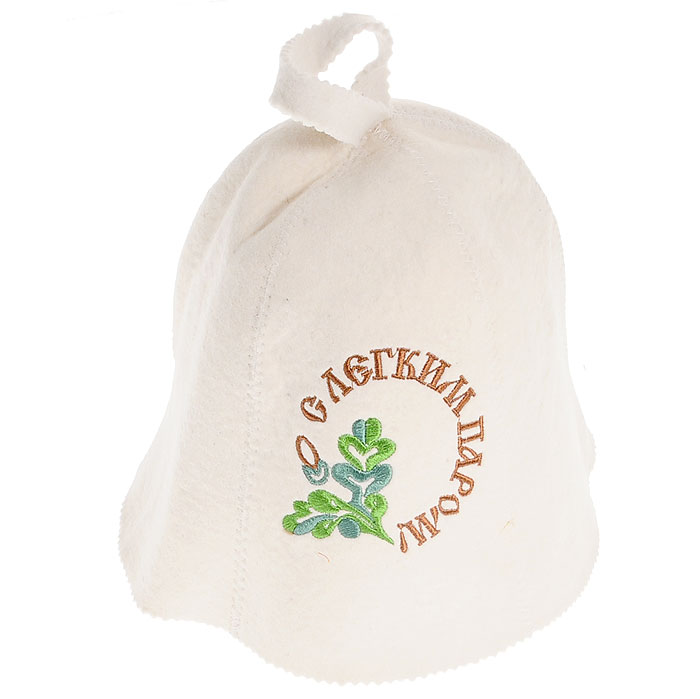 Шапка для бани и сауны С легким паром!. 41003 giftman шапка для бани с легким паром фетр
