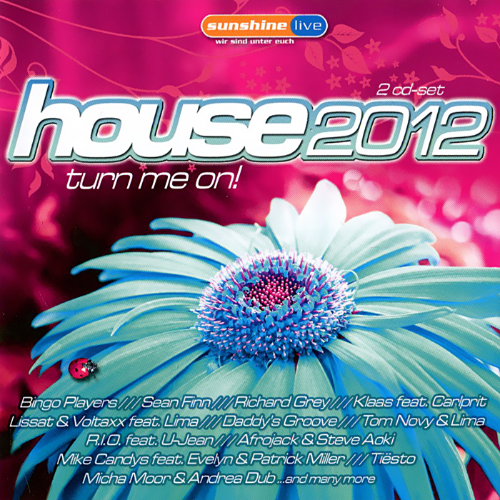 House 2012. Turn Me On! (2 CD) kiss me once cd