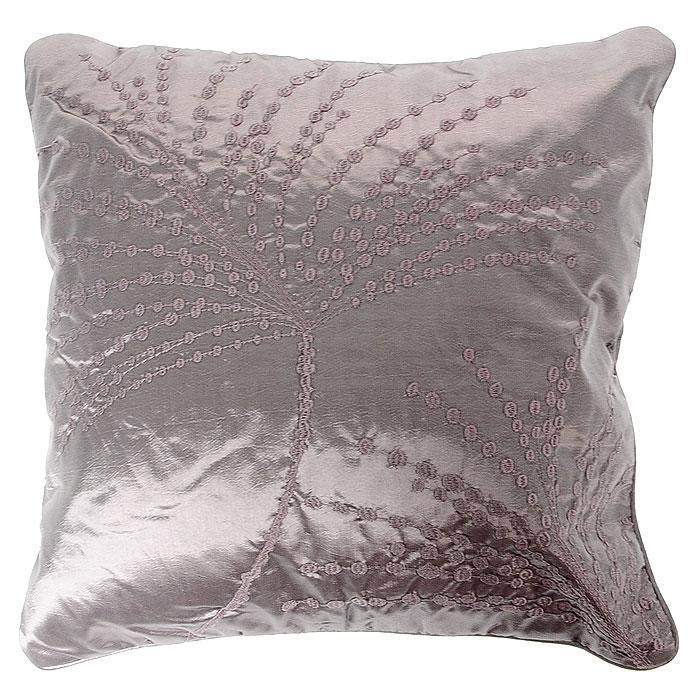 Декоративная подушка Коллекция, 40 х 40 см ПДМ-6ПДМ-6Декоративная подушка Коллекция, выполненная из полиэстера и силиконизированного волокна, станет отличным подарком для каждого. Подушка оформлена вышивкой в фиде ветвей. Съемный чехол закрывается на застежку-молнию.Такая подушка подарит комфорт и уют, станет оригинальным украшением интерьера. Характеристики:Материал чехла: 100% полиэстер. Набивка: 100% силиконизированное волокно. Размер подушки: 40 см x 40 см. Артикул: ПДМ-6.