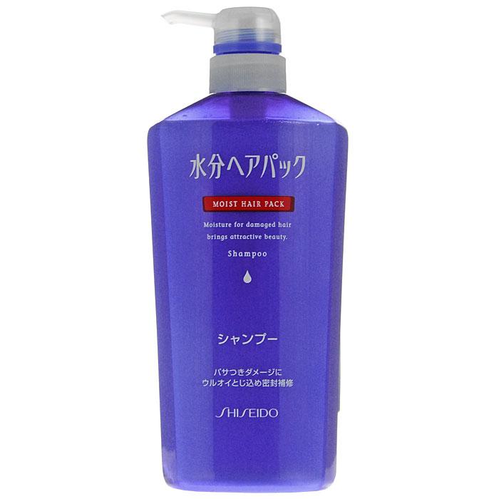 Шампунь Moist Hair Pack, для поврежденных волос, c цветочным ароматом, 600 мл807550Шампунь Moist Hair Pack рекомендован для восстановления поврежденных волос. -Мягко очищает, увлажняет и смягчает волосы, восстанавливает поврежденные участки, обеспечивая волосам гладкую и эластичную структуру. -Действует как при внутренних повреждениях ткани волоса, так и в случае повреждения кутикулы. -Высокомолекулярные полимеры (диметикон) покрывают волосы тончайшей пленкой, которая защищает их от пересыхания. -Входящий в состав аргинин придает волосам природную силу, эластичность и послушность. -После применения шампуня, волосы приобретают ухоженный вид, выглядят здоровыми и красивыми. -Обладает нежным цветочным ароматом. Характеристики: Объем: 600 мл. Производитель: Япония. Артикул: 807550.Товар сертифицирован.