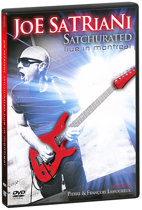Joe Satriani: Satchurated, Live In Montreal (2 DVD) joe satriani satchurated live in montreal 3d blu ray