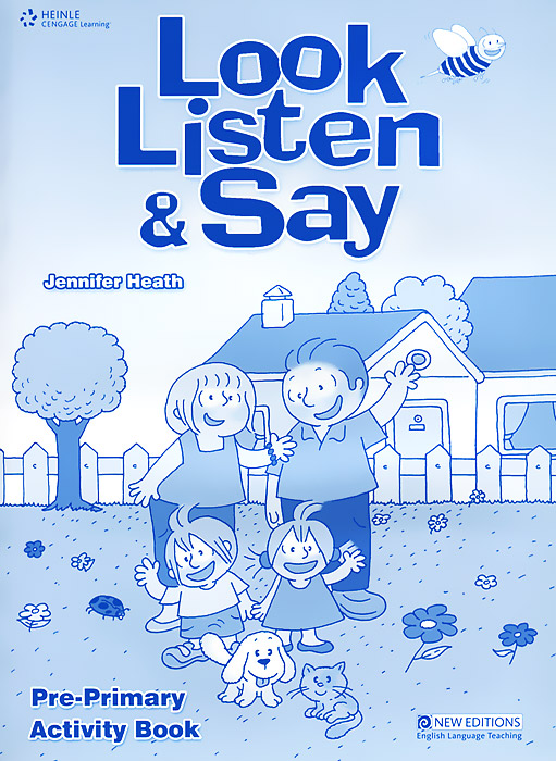 Look, Listen and Say: Pre-Primary: Activity Book look and learn dig