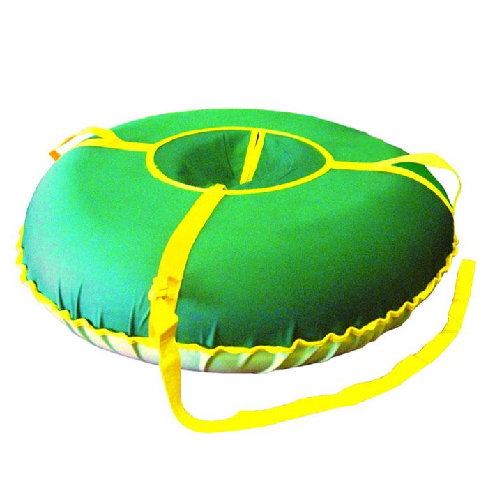 """Санки надувные """"Народные"""", средние, цвет: зеленый, ИГЛУ"""