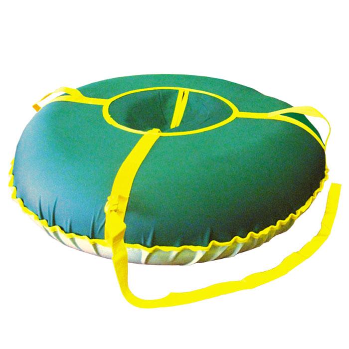 """Санки надувные """"Народные"""", большие, цвет: зеленый, ИГЛУ"""