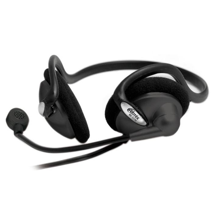Ritmix RH-331M, BlackRH-331MRitmix RH-331М – это лёгкая стереогарнитура с затылочным креплением. Она представляет собой отличный офисный вариант для тех, кто не хочет портить причёску классическим оголовьем. Идеальна для IP-телефонии.