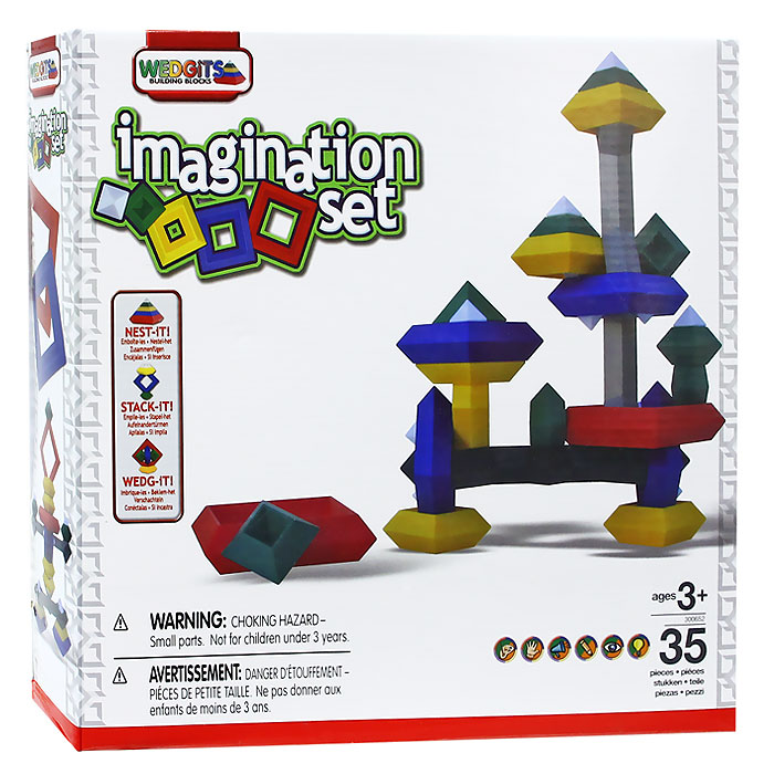 Wedgits Конструктор Imagination Set