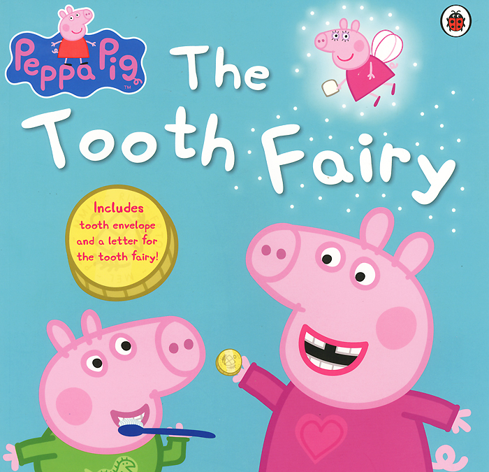 Peppa Pig: The Tooth Fairy seago adult sonic electric toothbrush waterproof deep clean whitening teeth brush with 2 replace tooth brush heads use battery