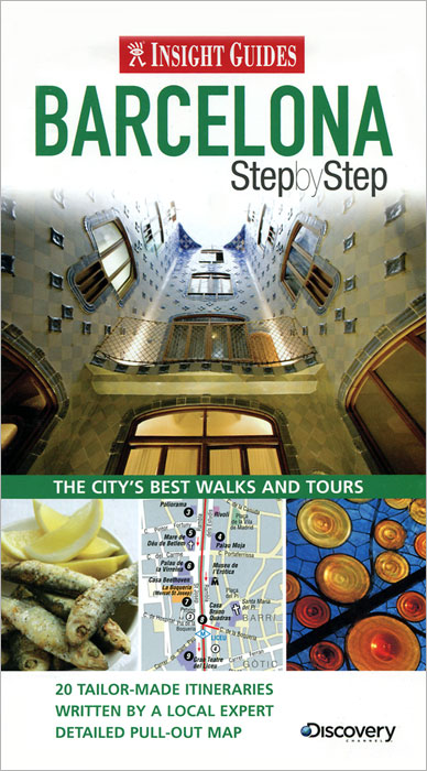 Insight Guides: Barcelona Step by Step insight guides barcelona city guide