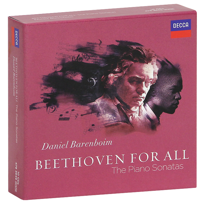 Дэниэл Баренбойм Daniel Barenboim. Beethoven. The Piano Sonatas (10 CD) piano sonatas cd