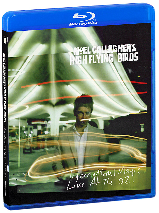 Noel Gallagher's High Flying Birds: International Magic Live at the O2 (Blu-ray + CD) rihanna loud tour live at the o2