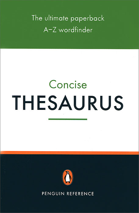Concise Thesaurus encarta thesaurus