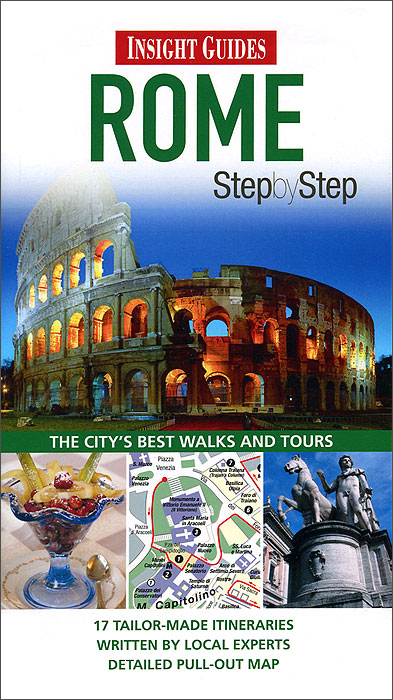 Insight Guides: Rome Step by Step insight guides rome city guide