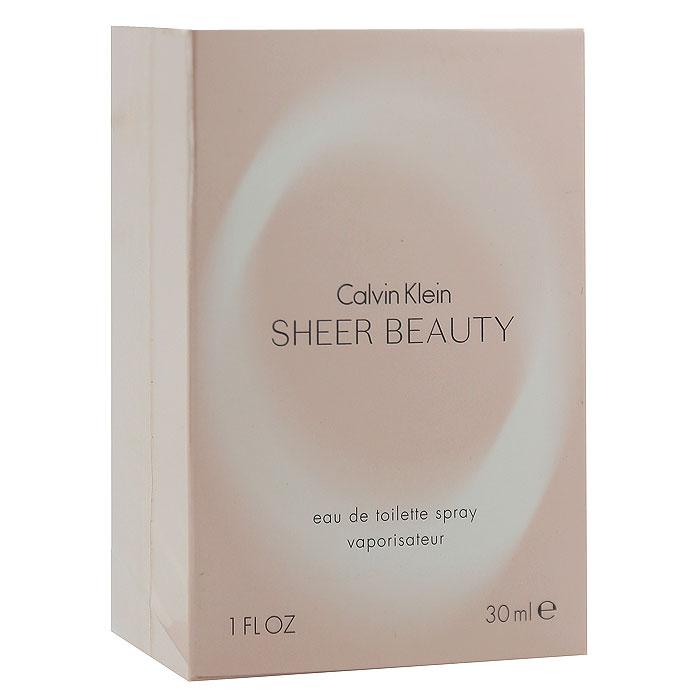 Calvin Klein Sheer Beauty. Туалетная вода, 30 мл туалетная вода calvin klein sheer beauty объем 50 мл вес 100 00