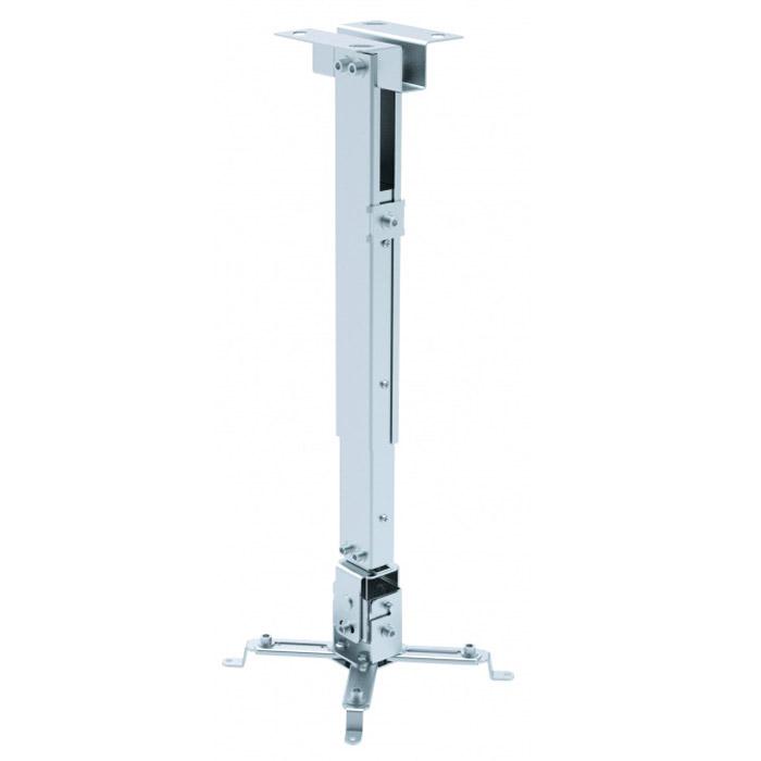 Digis DSM-2DSM-2Крепление Digis DSM-2 представляет собой универсальный потолочный кронштейн с независимыми регулировками и возможностью точного позиционирования положения проектора. Крепление комплектуется регулируемой телескопической штангой. Штанга оборудована встроенным кабель-каналом. Также возможен монтаж без использования штанги.