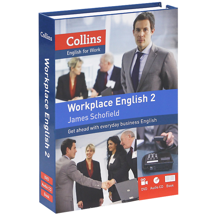 Collins: Workplace English 2 (+ CD, DVD-ROM) cd phil collins the essential going back