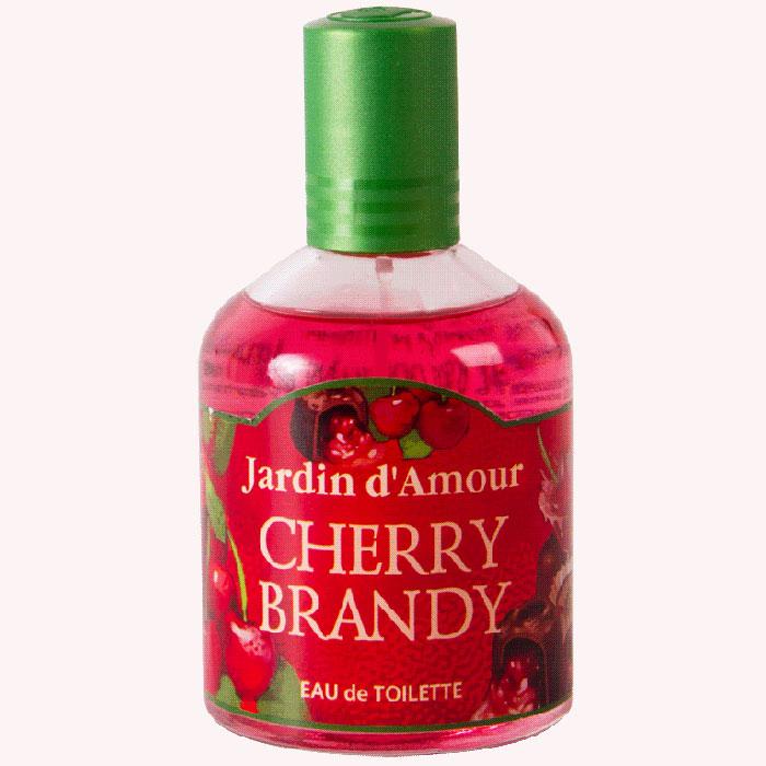 Туалетная вода Jardin dAmour Cherry Brandy, 100 мл2001009278Туалетную воду Jardin dAmour Cherry Brandy можно использовать как обычную туалетную воду и как ароматизатор пространства для дома и машины. Яркий радостный аромат Cherry Brandy с нотами вишневого ликера освежает, способствует отличному настроению, заряжает позитивной энергией молодости и здоровья. Характеристики:Объем: 100 мл. Артикул: 2001009278.