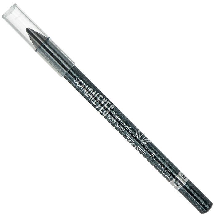 Rimmel Карандаш для век водостойкий ScandalEyes Kohl Kajal, тон №002, цвет: сверкающий черный, 1,2 г34788273002Карандаш для век водостойкий Rimmel ScandalEyes Kohl Kajal поможет создать яркий стойкий макияж на весь день. Карандаш обладает мягкой водостойкой формулой, легко наносится, не скатывается, не стирается, не течет. Устойчив к смазыванию и влажности, не оставляет следов. Карандаш подходит для внутреннего века. Безопасен для чувствительных глаз. Характеристики: Вес: 1,2 г. Тон: №002 (сверкающий черный). Производитель: Франция. Артикул:34788273002. Товар сертифицирован.