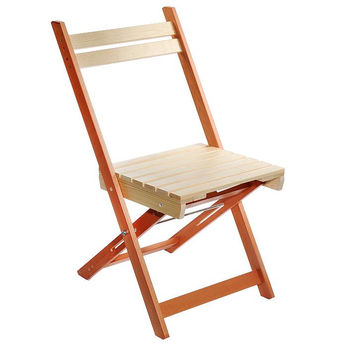 """Складной стул """"Банные штучки"""" изготовлен из древесины сосны. Стул достаточно прочен, легко собирается и разбирается и не занимает много места, поэтому подходит для транспортировки и хранения дома. Стул складной """"Банные штучки"""" сделает банные процедуры более комфортными и приятными, а также украсит интерьер любой бани или сауны, дополнив его русским духом самобытности и частичкой традиционной русской культуры благодаря своей универсальной конструкции.   Характеристики:  Материал: сосна. Размер стула в собранном виде (Д х Ш х В): 44 см х 55 см х 85 см. Размер стула в разобранном виде (Д х Ш х В): 44 см х 8 см х 98 см. Размер упаковки: 99 см х 47,5 см х 8,5 см. Артикул: 32191."""