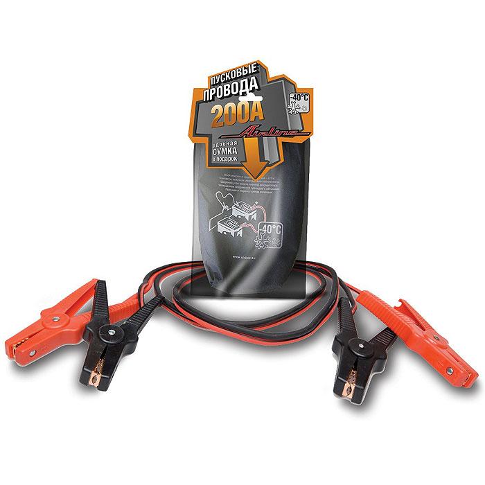 Провода прикуривателя Airline SA-200-02 200 АSA-200-02Провода вспомогательного запуска Airline SA-200-02 200 А предназначены для запуска легковых автомобилей. Данная модель имеет ряд преимуществ, увеличенные зажимы с широким углом захвата позволяют с легкостью крепить провода на любой тип клемм аккумулятора. Провод и зажимы полностью заизолированы с «нерабочей» стороны, что исключает риск случайного замыкания контактов и вывода из строя электронной системы автомобиля.Характеристики: Материал: медь, резина, пластик. Длина кабеля: 2 м. Диаметр кабеля: 8 мм. Размер упаковки: 24 см х 8 см х 46 см. Срок годности: 2 года.