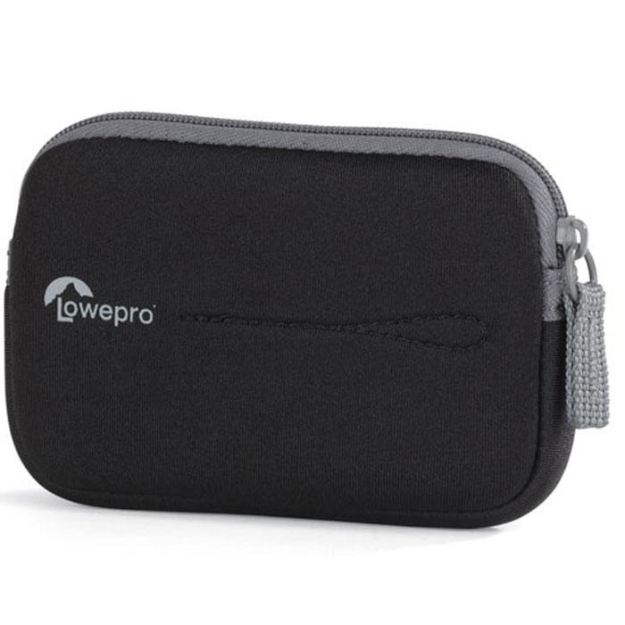 Lowepro Vail 10, Black чехол для фотокамерыVail 10 черныйЧехол Lowepro Vail 10 изготовлен из мягкой и ударопрочной ткани. Внутри он выполнен из мягкой матовой ткани для защиты ЖК-экрана от пыли и царапин, а также имеет петлю для фиксации на поясном ремне.