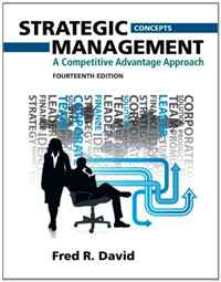 Strategic Management: A Competitive Advantage Approach, Concepts Plus NEW MyManagementLab with Pearson eText - Access Card Package