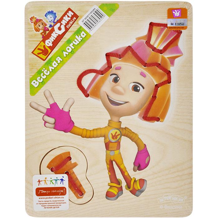 Игра-шнуровка Фиксики  - купить со скидкой