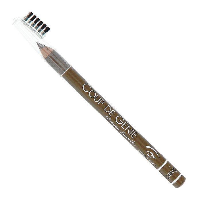 Vivienne Sabo Карандаш для бровей Coup de Genie, тон №001, 0,9 гD2020001Брови идеальной формы, как на картинке? Легко! Ухоженные брови - основа профессионального макияжа и ухоженного внешнего вида.Карандаши универсальных оттенков корректирует форму и цвет бровей, маленькая расческа используется до и после нанесения карандаша. Безупречный вид бровей - гениальный ход в создании макияжа! Изюминка для бровей Coup de Genie для вас - обеспечивает эффект естественных натуральных бровей, выразительных и ухоженных.